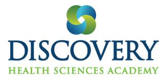 Discovery Health Sciences Academy logo